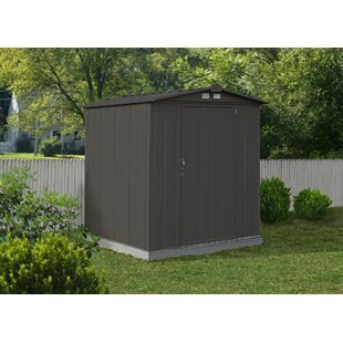 EZEE Shed 6 ft. W x 5 ft. D Metal Storage Shed