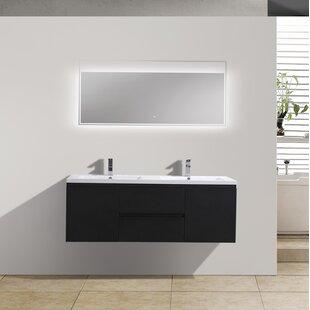 Lina 59 Double Bathroom Vanity Set by Orren Ellis