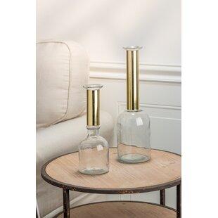 Gold Vase Set Wayfair