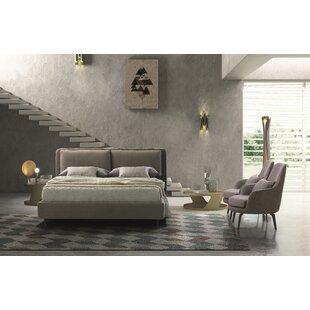 Brayden Studio Butler Upholstered Platform Bed