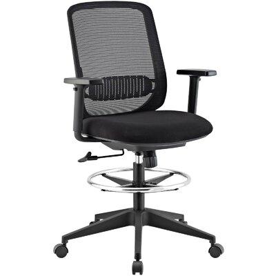 Eindhoven Ergonomic Mesh Drafting Chair by Brayden Studio