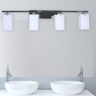 Online Reviews Ramiro 4-Light Bath Bar By Orren Ellis