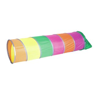 Searching for Rainbow Swirl Play Tunnel with Carrying Bag By Pacific Play Tents
