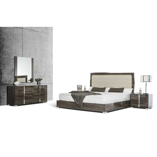 Demaria Platform Configurable Bedroom Set