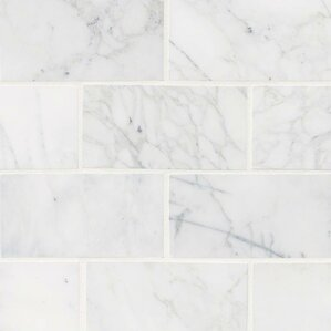 White Tile Floor Texture subway tile you'll love | wayfair