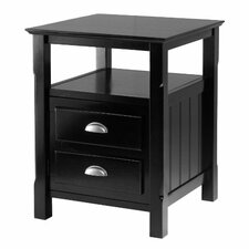 Timber 2 Drawer Nightstand by Luxury Home