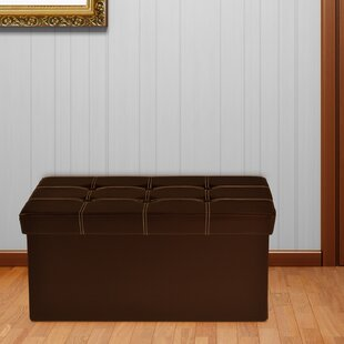 Nicholson Collapsible Storage Ottoman by Winston Porter