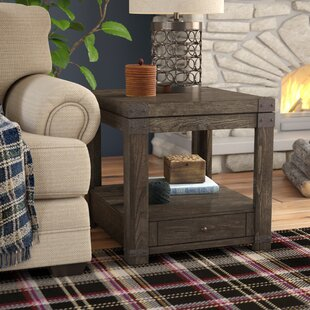 Eustace End Table With Storage Greyleigh