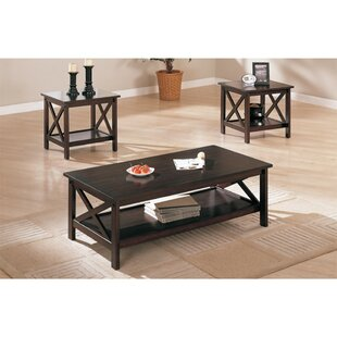 Gilligan Modish 3 Piece Coffee Table Set by August Grove