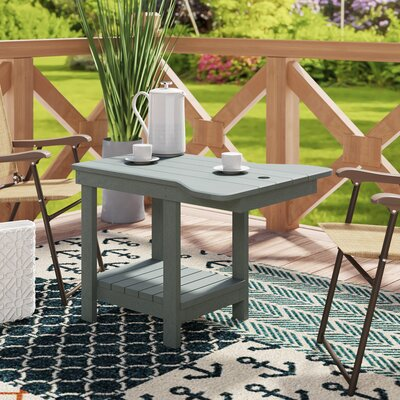 Trinidad Plastic/Resin Side Table by Bay Isle Home Amazing