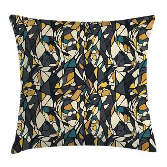 Bloomsbury Market Mendell Zebroid 100 Cotton Animal Print Throw Pillow Wayfair
