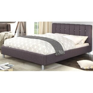 Mercer41 Chesley Queen Upholstered Platform Bed