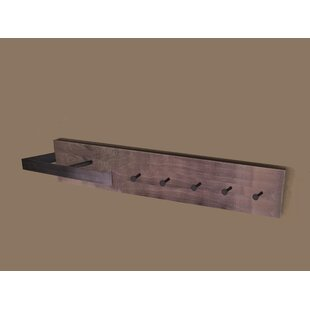 Industrial Wall Mounted Coat Rack By Borough Wharf