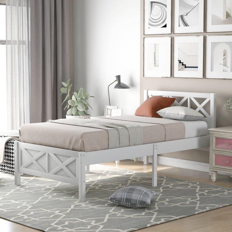 Gracie Oaks Taopi Platform Bed