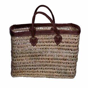 Affordable Price Deep Market Basket with Strap ByCasablanca Market