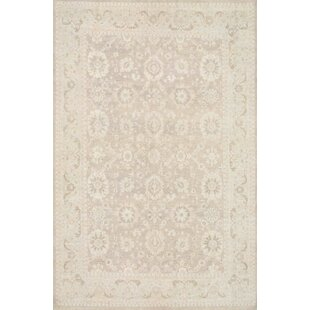Ferehan Hand-Knotted Light Brown Area Rug ByPasargad
