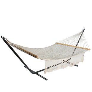 Hoskins Lattice Rope Tree Hammock by Bungalow Rose