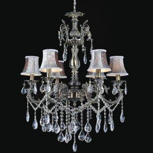 Astoria Grand Velez 6-Light Shaded Chandelier