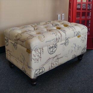 NOYA USA Cavalieri Upholstered Storage Bench