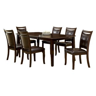 Carnadine 7 Piece Extendable Dining Set Hokku Designs