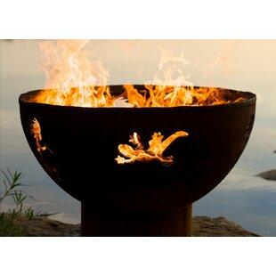 Kokopelli Steel Propapne Fire Pit By Fire Pit Art