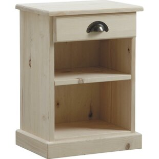 Wyncote 1 Drawer Bedside Table By Beachcrest Home