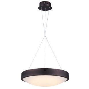 Quayle LED Geometric Pendant by Orren Ellis