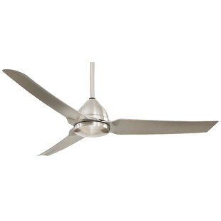 54 Java 3-Blade Ceiling Fan with Remote By Minka Aire Outdoor Lighting