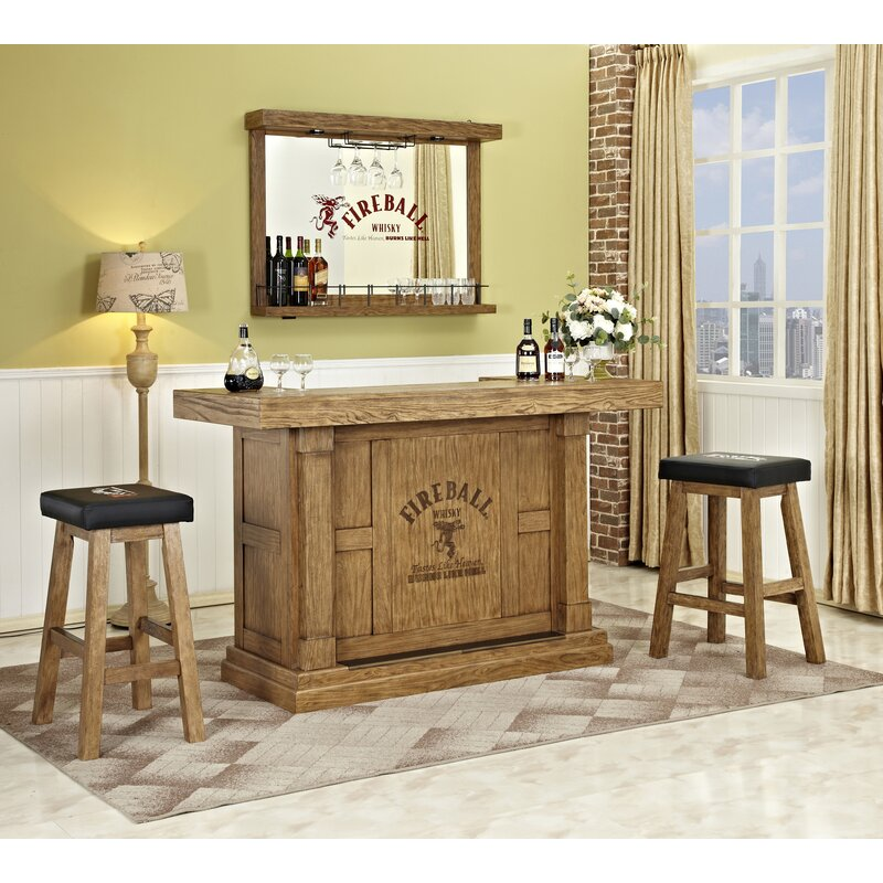 ECI Furniture Fireball Home Bar & Reviews | Wayfair