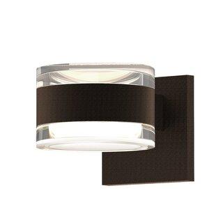 Algarin 2-Light LED Outdoor Armed Sconce ..