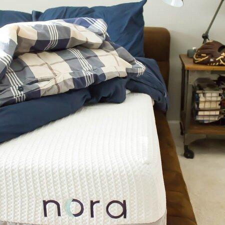 Nora mattress image from Brenna's blog