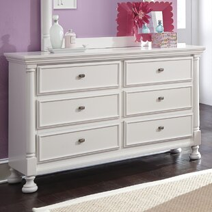 Price comparison Jeffersonville 6 Drawer Double Dresser by Darby Home Co
