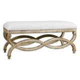 Erine Upholstered Bench by One Allium Way