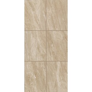 Review Bradwell 12 x 24 Ceramic Filed Tile in Nocino Travertine by Mohawk Flooring