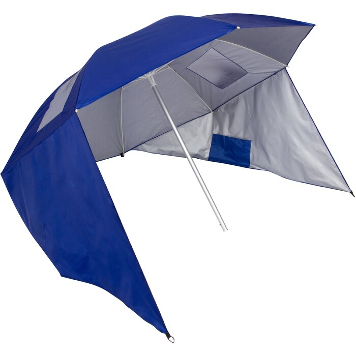 cacdc9e97a85 Freeport Park Tiara Sun Shelter 50+ UV Protection 7' Beach Umbrella |  Wayfair