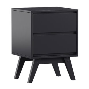 Bellows 2 Drawer Nightstand