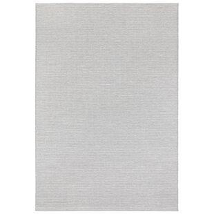 Millau Flatweave Light Grey/Cream Indoor/Outdoor Rug Image
