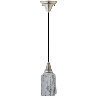 Metro Fusion Licorice Draped 1-Light Square/Rectangle Pendant by Meyda Tiffany