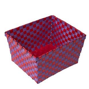 Weave Plastic Basket ByHoney Can Do