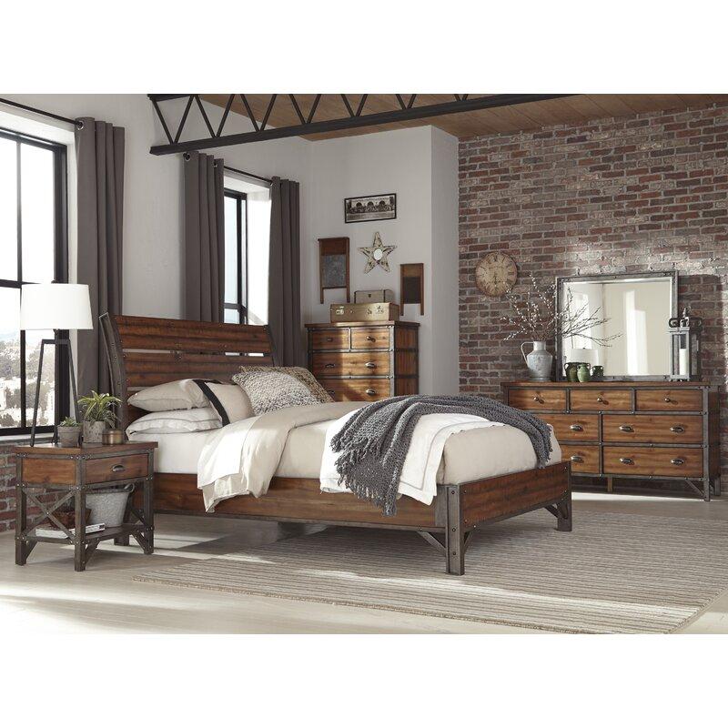 8bd4a1f9aa18 Williston Forge Haverhill California King Platform Configurable Bedroom Set  & Reviews | Wayfair