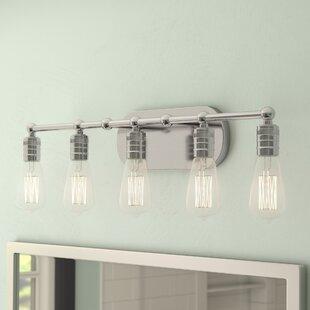 Beachcrest Home Emory 5-Light Vanity Light