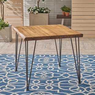 Kendig Outdoor Wooden Dining Table