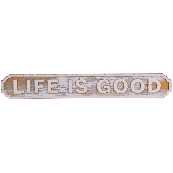 Life Is Good Sign Wayfair