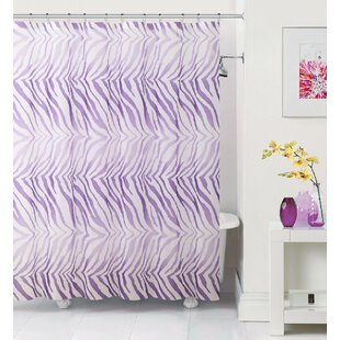 Arlene Zebra Single Shower Curtain
