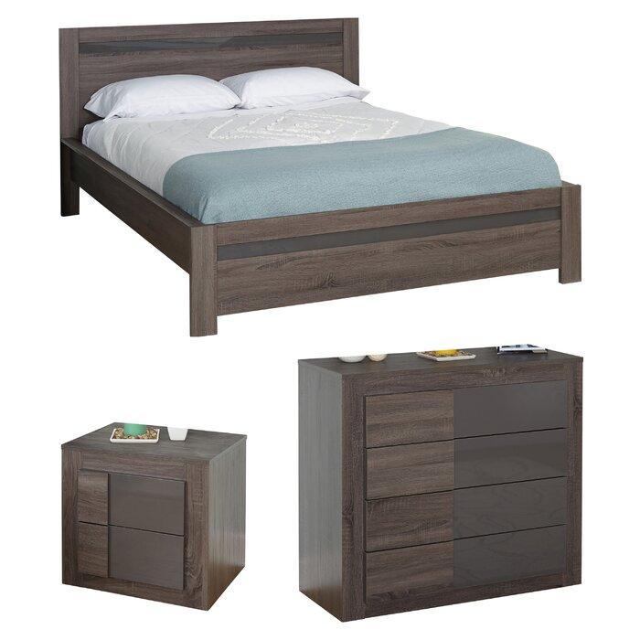 Joshua Queen Platform Configurable Bedroom Set