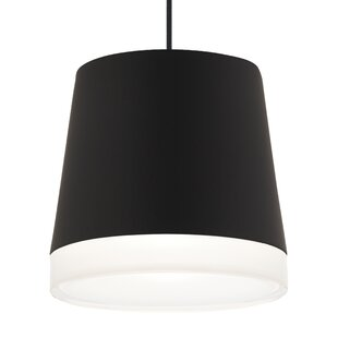 Henrik Grande 1-Light Cone Pendant by Tech Lighting