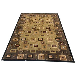 One-of-a-Kind Chamorro Hand-Knotted Wool Brown/Ivory Area Rug ByRed Barrel Studio