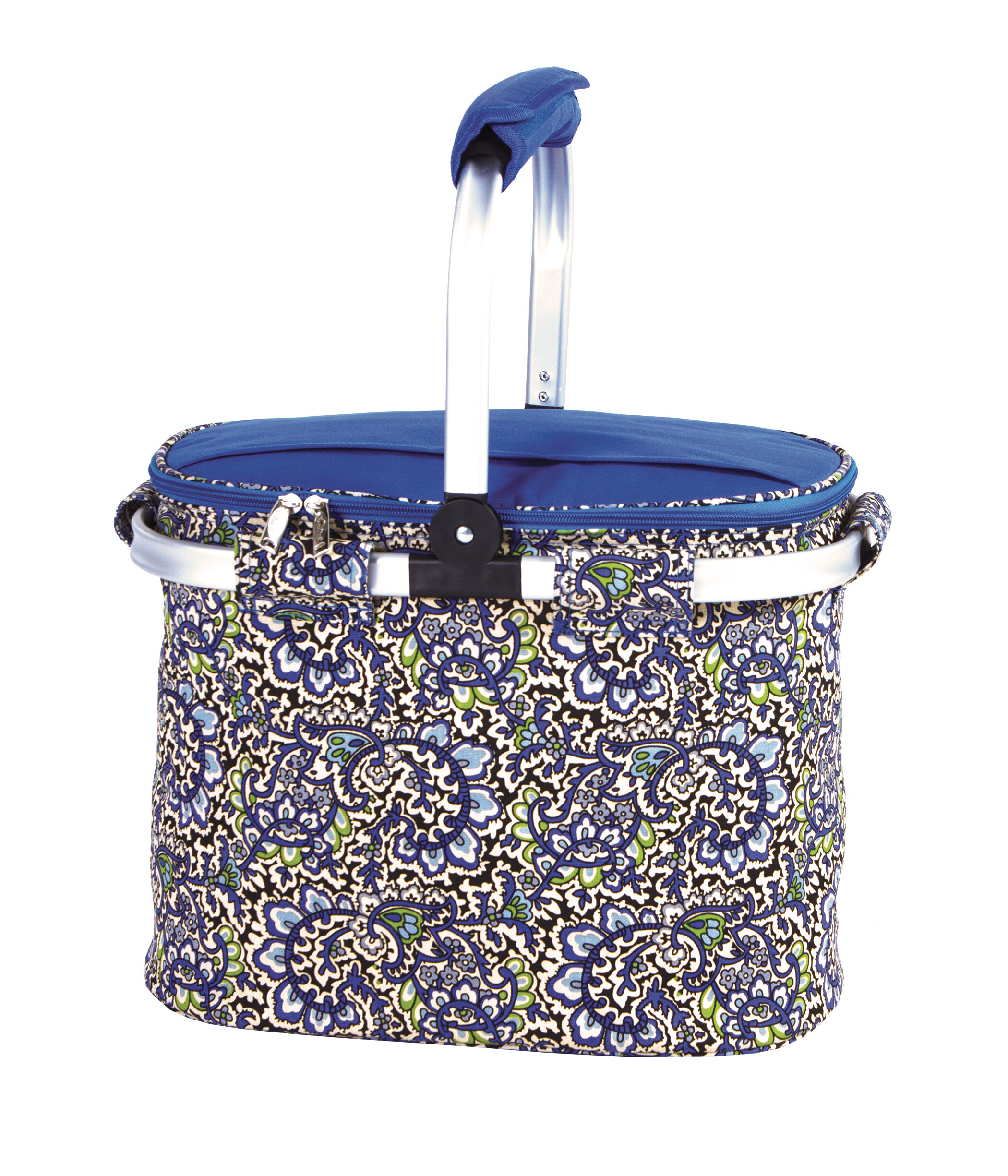 Picnic Plus By Spectrum Shelby Collapsible Thermal Foil Insulated Market Tote Picnic Cooler Wayfair