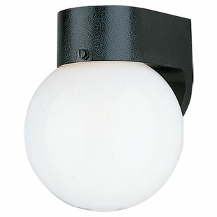 Charlton Home Lowell 1-Light Outdoor Sconce