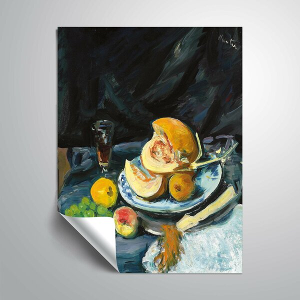 Winston Porter Still Life With Melon Removable Wall Decal Wayfair